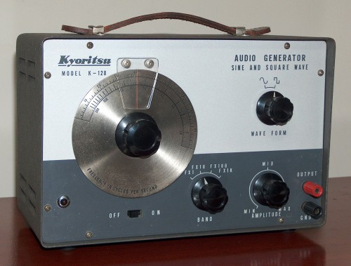 Audio Generator, KYORITSU, Model K-128