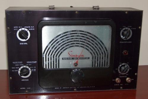 Signal Generator, SIMPSON, Model 340