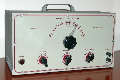 Audio Oscillator, HEATHKIT, Model AO-1