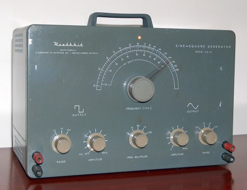 Sine / Square Generator, HEATHKIT, Model AG-10