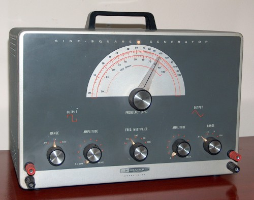 Sine / Square Generator, HEATHKIT, Model IG-82