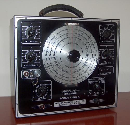 Signal Generator, PRECISION, Model E-200-C