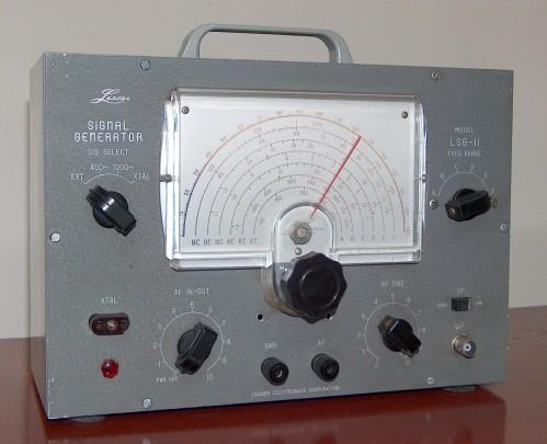 Signal Generator, LEADER, Model LSG-II