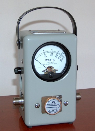 RF Wattmeter, BIRD, Model 43