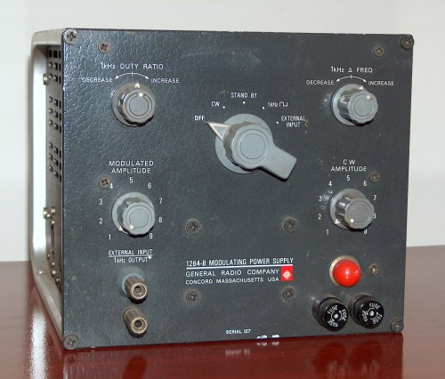 Modulating Power Supply, GENERAL RADIO, Model 1264-B