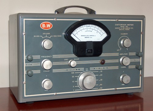 Distortion Meter, (B&K) BARKER & WILLIAMSON, Model 400