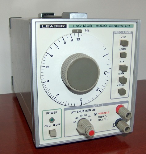Audio Generator, LEADER, Model LAG-120B