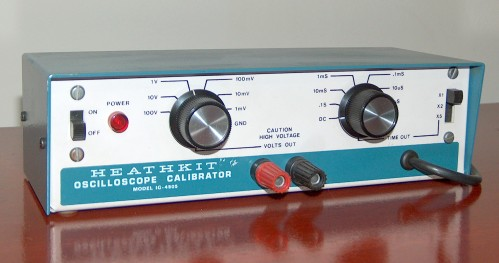 Oscilloscope Calibrator, HEATHKIT, Model IG-4505