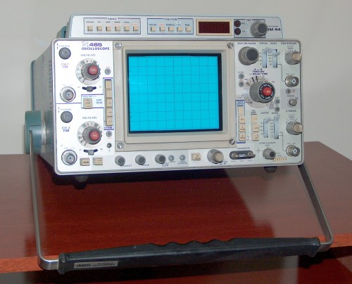 Oscilloscope, TEKTRONIX, Model 465 (Option DM44)