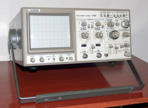 Oscilloscope, LEADER, Model 1100
