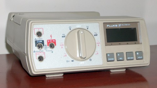 Multimeter, FLUKE, Model 37