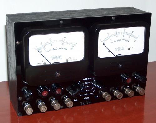 Voltmeter / Ammeter, WELCH, Model 7694