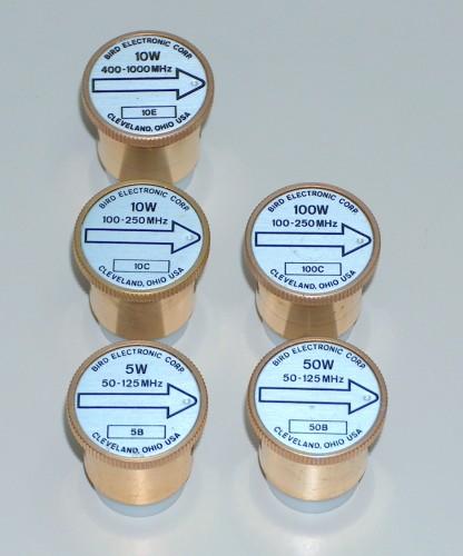 Plug-In Elements, BIRD (for wattmeter)
