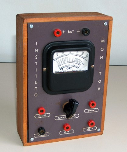Multimeter, INSTITUTO MONITOR, Model A