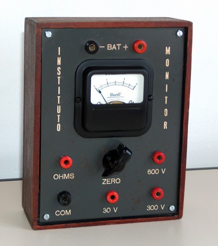 Multimeter, INSTITUTO MONITOR, Model B