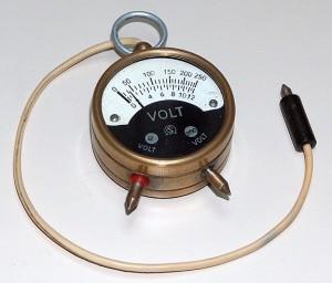 Portable Voltmeter, xxx, Model 12/250