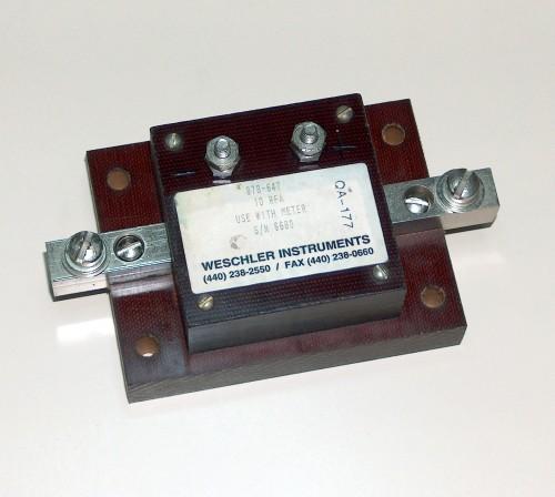Heating Element, WESCHLER, Model QA-177 (10A)