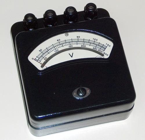 Voltmeter, ENGRO, Model xxx