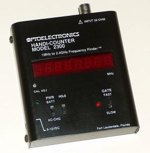 Handi-Counter, OPTOELECTRONICS, Model 2300