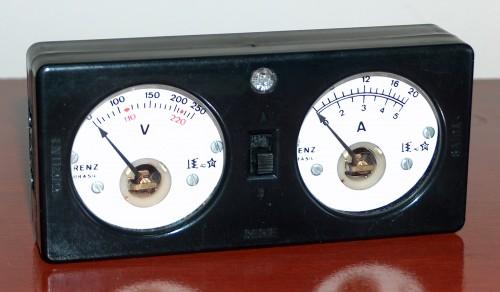 Volt-Ammeter Test, RENZ, Model TE 15