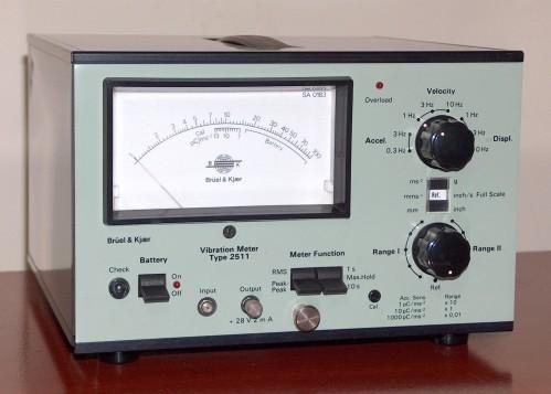 Vibration Meter, Brüel & Kjaer, Model 2511