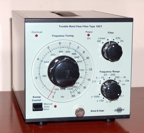 Tunable Band Pass Filter, Brüel & Kjaer, Model 1621