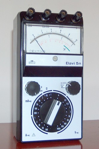 Multimeter, HARTMANN & BRAUN, Model Elavi 5N