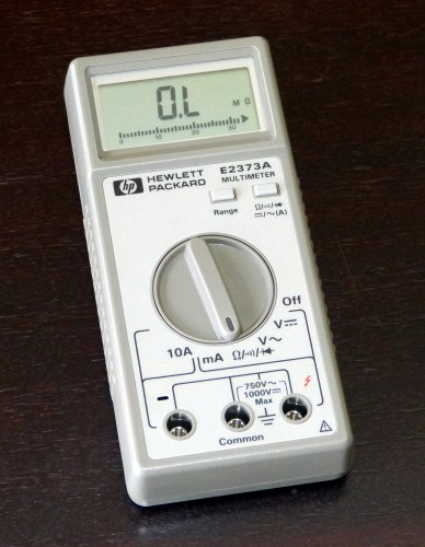 Digital Multimeter, HEWLETT & PACKARD, Model E2373A