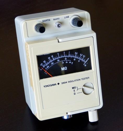 Insulation Tester, YOKOGAWA, Model 2404