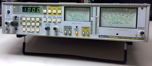 Audio Analyzer, NATIONAL, Model VP-7720A
