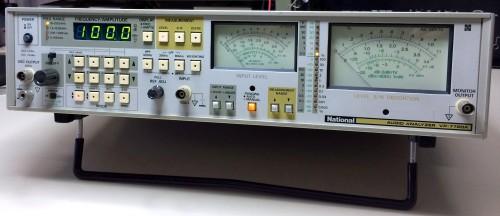 Audio Analyzer, NATIONAL, Model VP-7720A