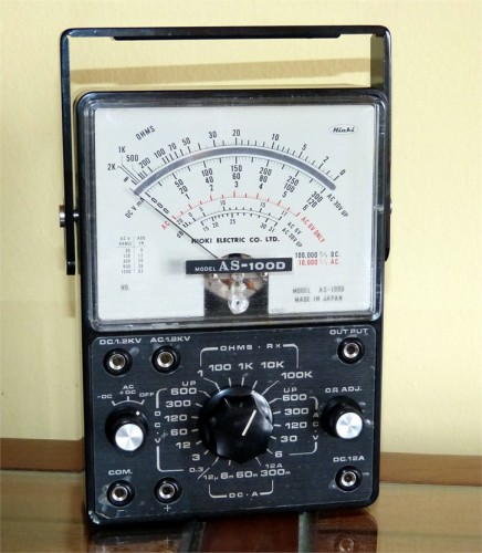 Multimeter, HIOKI ELECTRIC CO. LTD., Model AS-100D