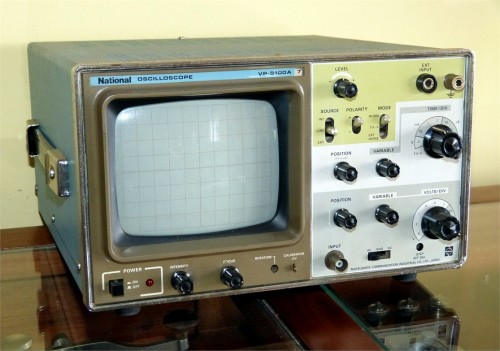 Osciloscope, NATIONAL, Model VP-5100A